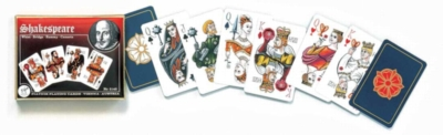 Shakespeare - Double Deck Playing Cards