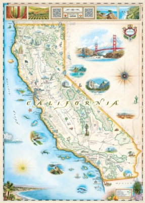 Xplorer: California - 1000pc Jigsaw Puzzle by Masterpieces