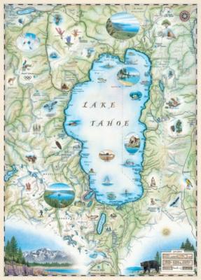 Xplorer: Lake Tahoe - 1000pc Jigsaw Puzzle by Masterpieces