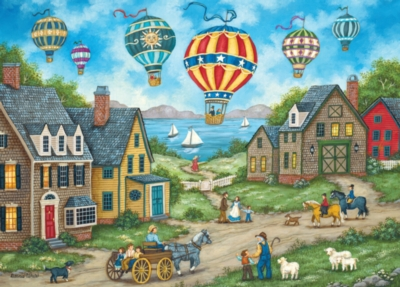 Hometown: Passing Through - 1000pc Jigsaw Puzzle by Masterpieces