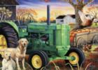 John Deere: Morning Work Crew - 1000pc Jigsaw Puzzle by Masterpieces