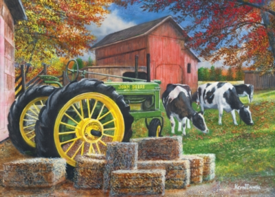 John Deere: Old Friends - 1000pc Jigsaw in a Tin Puzzle by Masterpieces