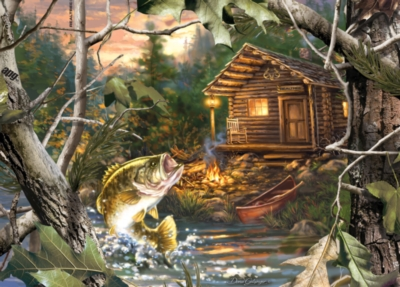 Realtree: The One That Got Away - 1000pc Jigsaw Puzzle by Masterpieces
