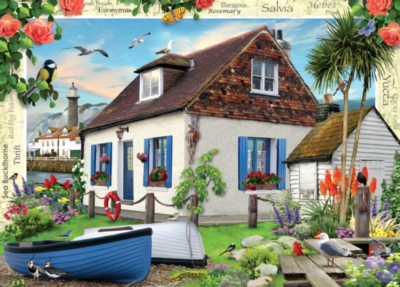 Fisherman's Cottage - 1000pc Jigsaw Puzzle by Masterpieces