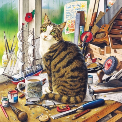 Catology: Nelson - 1000pc Jigsaw Puzzle by Masterpieces