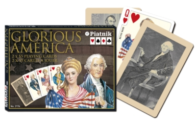 Glorious America - Double Deck Playing Cards