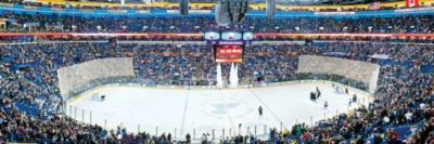 NHL: St. Louis Blues - 1000pc Panoramic Jigsaw Puzzle by Masterpieces