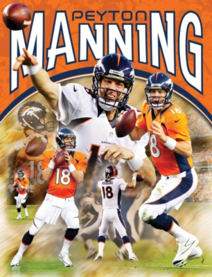 NFL: Peyton Manning - 100pc Jigsaw Puzzle by Masterpieces
