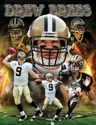 NFL: Drew Brees - 100pc Jigsaw Puzzle by Masterpieces