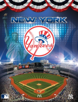 MLB: New York Yankees 100PC Puzzle - 100pc Jigsaw Puzzle by Masterpieces