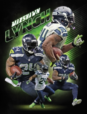 NFL: Marshawn Lynch - 100pc Jigsaw Puzzle by Masterpieces