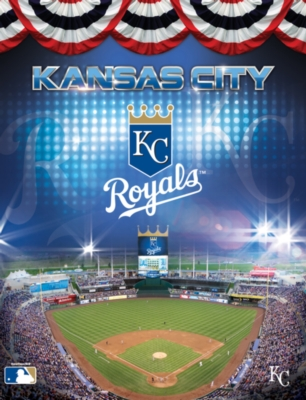 MLB: Kansas City Royals 100PC Puzzle - 100pc Jigsaw Puzzle by Masterpieces