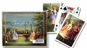 Mozart's Cosi Fan Tutte - Double Deck Playing Cards