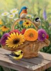 Summer Bouquet - 1000pc Jigsaw Puzzle by Jack Pine