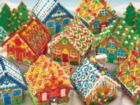Gingerbread Houses - 1000pc Jigsaw Puzzle by Cobble Hill