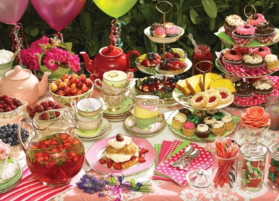 Garden Party - 1000pc Jigsaw Puzzle by Cobble Hill