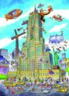DoodleTown: Empire State - 1000pc Jigsaw Puzzle by Cobble Hill