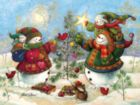 Holiday Sparkle - 275pc Easy Handling Jigsaw Puzzle by Cobble Hill