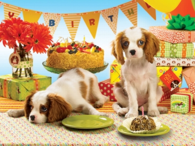 Every Dog Has Its Day - 275pc Easy Handling Jigsaw Puzzle by Cobble Hilly