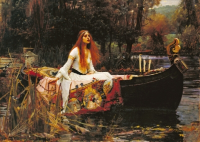 Waterhouse: The Lady of Shalott - 1000pc Jigsaw Puzzle by D-Toys