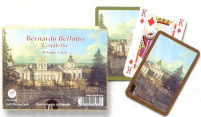 Canaletto: Wilanow - Double Deck Playing Cards