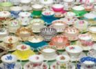 Teacups - 1000pc Jigsaw Puzzle by Jack Pine