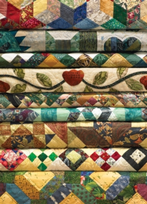 Grandma's Quilts - 1000pc Jigsaw Puzzle by Jack Pine