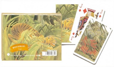 Rousseau - Tiger - Double Deck Playing Cards