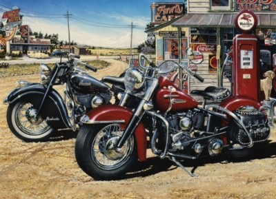 Two for the Road - 1000pc Jigsaw Puzzle by Jack Pine