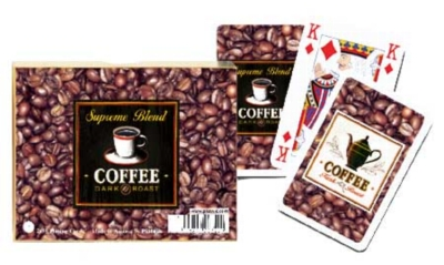 Coffee Supreme Blend - Double Deck Playing Cards