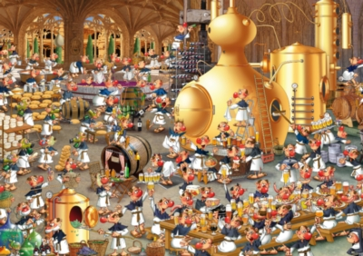 Ruyer, Brewery - 1000pc Jigsaw Puzzle by Piatnik