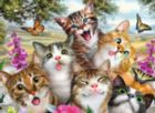 Friendly Felines - 200pc Jigsaw Puzzle by Ravensburger