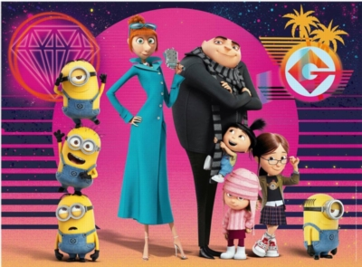 Despicable Me 3 - 200 pc XXL Jigsaw Puzzle by Ravensburger