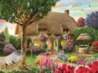 Thatched Cottage - 300pc Jigsaw Puzzle by Sunsout