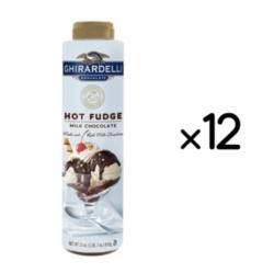 Ghirardelli Hot Fudge - 23oz Squeeze Bottle Case