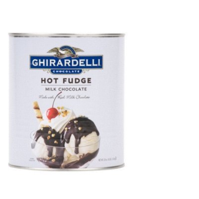 Ghirardelli Hot Fudge - 8lb Can