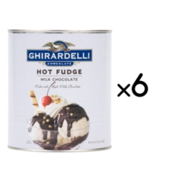 Ghirardelli Hot Fudge - 8lb Can Case