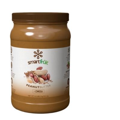 SmartFruit: Peanut Butter Flaxseed, Pourable/Pumpable - 4.4lb Bottle