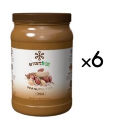 SmartFruit: Peanut Butter Flaxseed, Pourable/Pumpable - 4.4lb Bottle Case