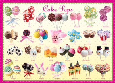 Cake Pops - 300pc Jigsaw Puzzle by Eurographics