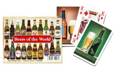 Beers of the World - Double Deck Playing Cards