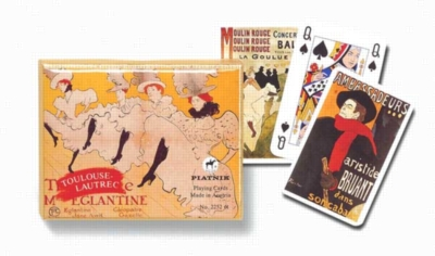 Toulouse: Lautrec - Double Deck Playing Cards