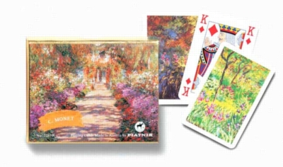 Monet: Giverny - Double Deck Playing Cards