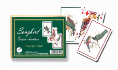 Songbird - Double Deck Playing Cards