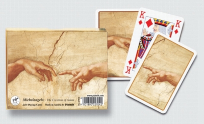 Michelangelo: The Creation of Adam - Double Deck Playing Cards