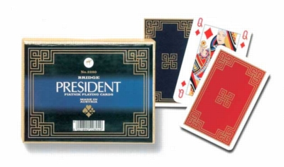 President - Double Deck Playing Cards