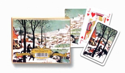 Hunters in Snow - Double Deck Playing Cards