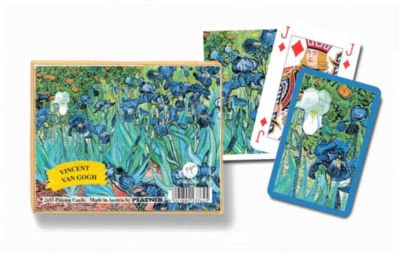 Van Gogh: Irises - Double Deck Playing Cards