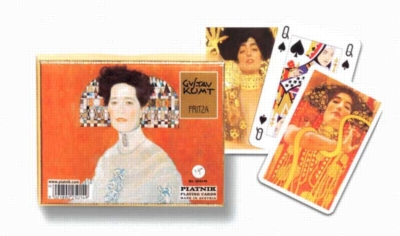 Klimt: Fritza - Double Deck Playing Cards