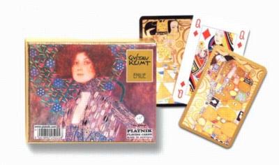 Klimt: Emilie - Double Deck Playing Cards